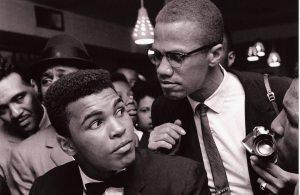 Malcolm X & Mohamed Ali